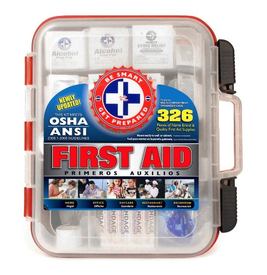 5. Be Smart Get Prepared First Aid Kit