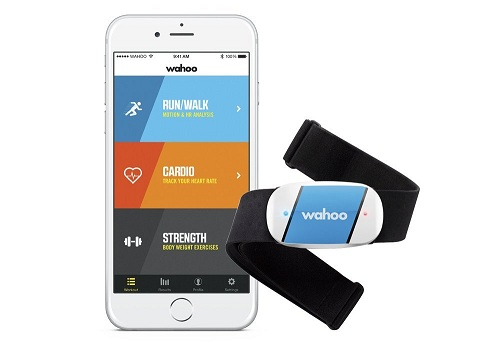 6. Wahoo TICKR Heart Rate Monitor