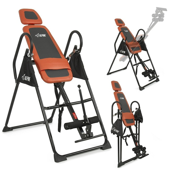7. ALPINE© Pro Deluxe Inversion Table