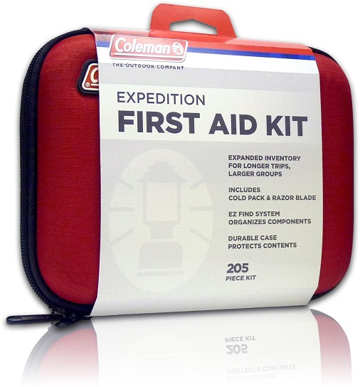 7. Coleman Expedition First Aid Kit