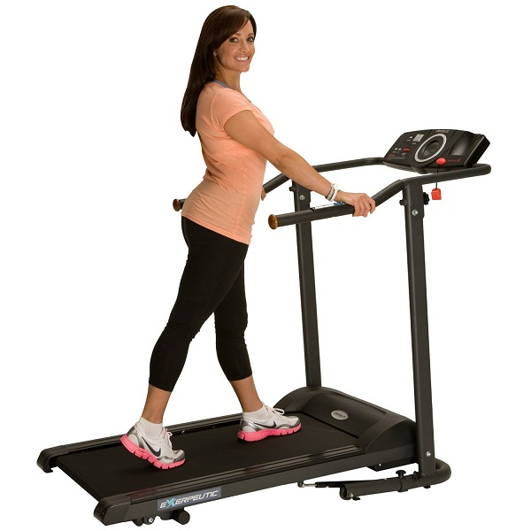 7. Exerpeutic TF1000 Walk to Fitness Electric Treadmill