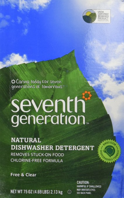 7. Seventh Generation Auto Dish Powder
