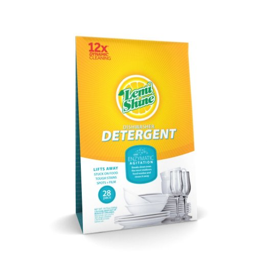 8. Lemi Shine Dishwasher Detergent Pacs