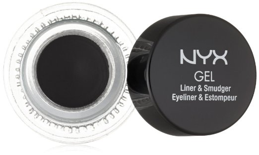 8. NYX Cosmetics Gel Eyeliner