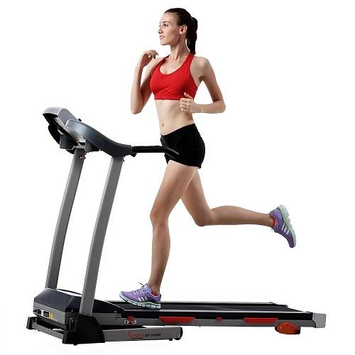 8. Sunny Health & Fitness Treadmill