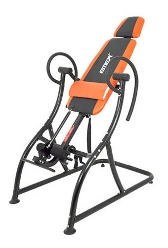 9. Emer Premium Gravity Back Therapy Fitness Exercise Inversion Table INVR-06B
