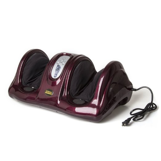 9. Kendal All in One Kneading Shiatsu Rolling Foot Massager