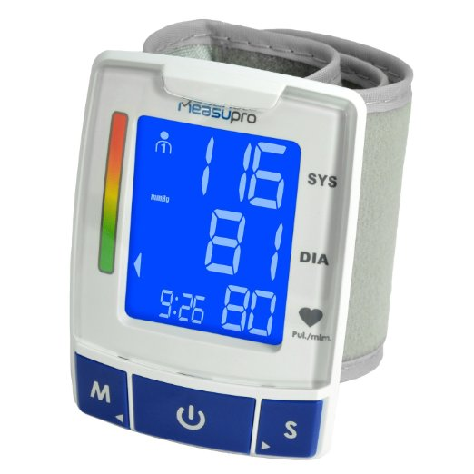 9. MeasuPro Digital Wrist Blood Pressure Monitor