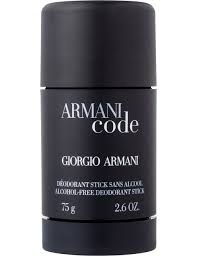 Armani Code by Giorgio Armani For Men. Alcohol Free Deodorant Stick