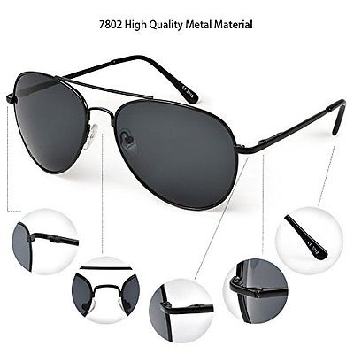 Duduma Premium Full Mirrored Aviator Sunglasses w Flash Mirror Lens Uv400