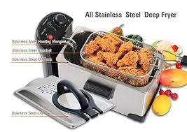 Secura Stainless Steel Deep Fryer