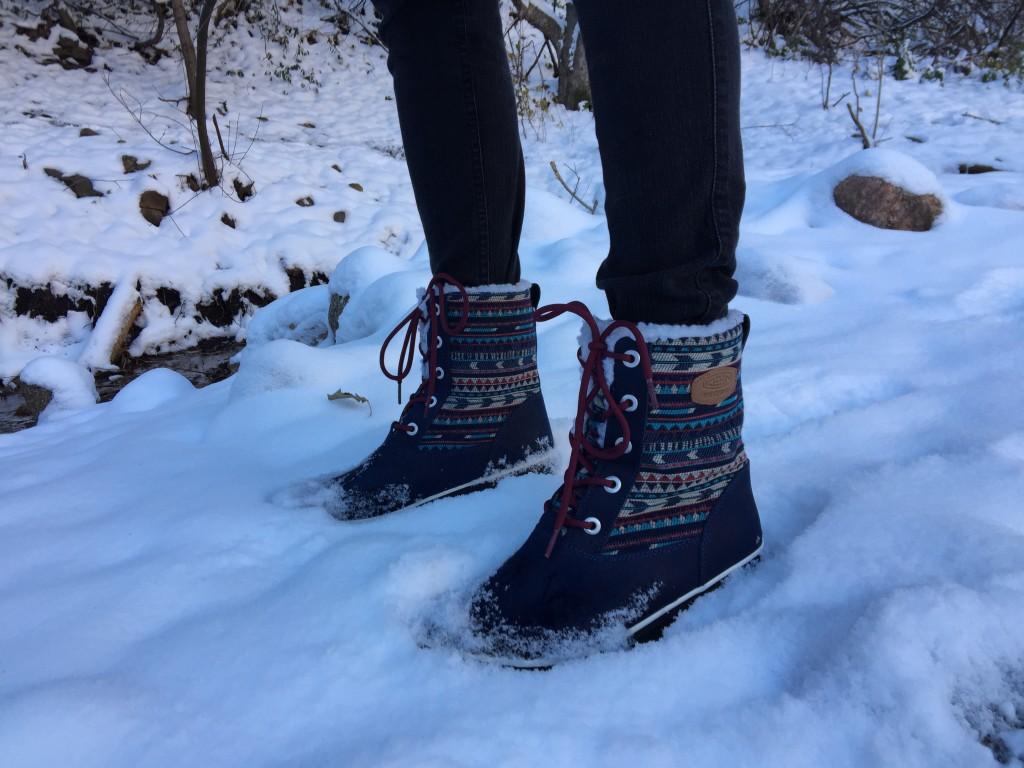 Зимняя обувь в домашних условиях