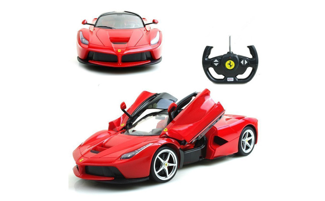 1-of-14-Scale-Ferrari-La-Ferrari-LaFerrari-Radio-Remote-Control-Model-Car-RC-RTR-Open-Doors