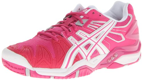1. ASICS Women's GEL-Resolution 5 Tennis Shoe