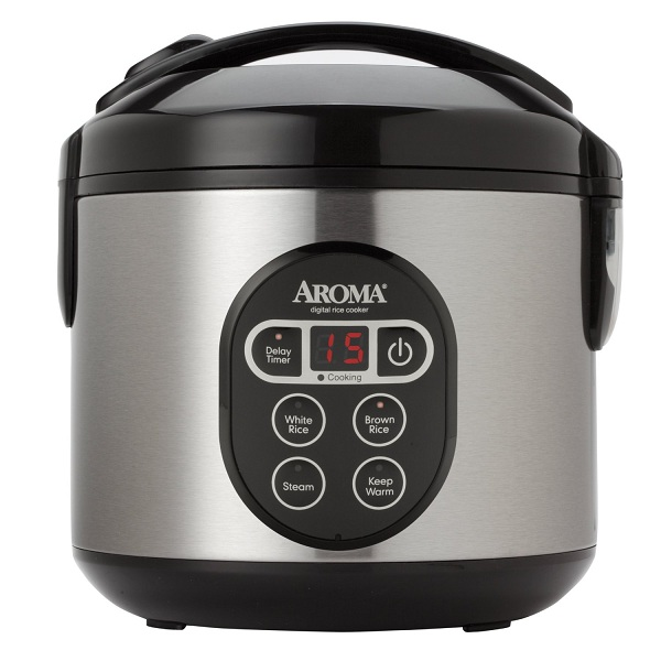 1. Aroma Digital Rice Cooker and Food Steamer