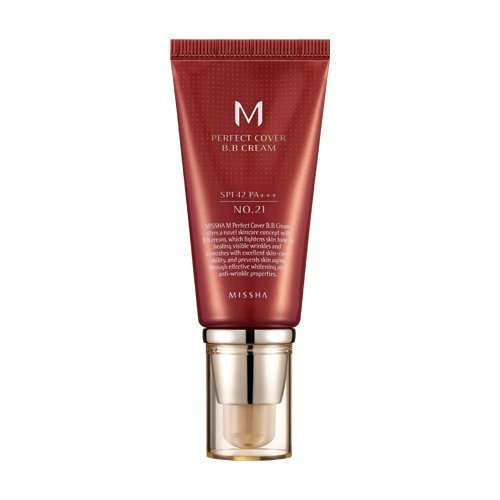 1. MISSHA M Perfect Cover BB Cream