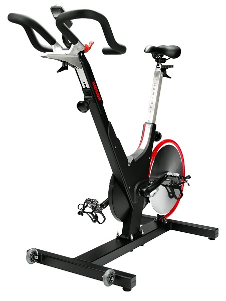 10. Keiser M3i Indoor Exercise Bike