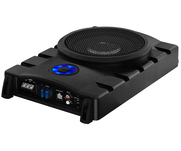 10. Planet Audio P8UAW Amplified Subwoofer System