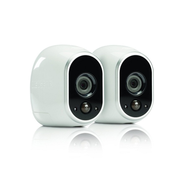 2. Arlo Smart Home Security Camera System by Netgear