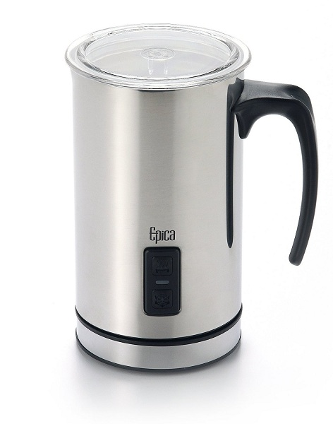 2. Epica Electric Milk Frother & Heater Carafe