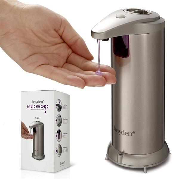 2. HAYDEN Autosoap Automatic Soap Dispenser