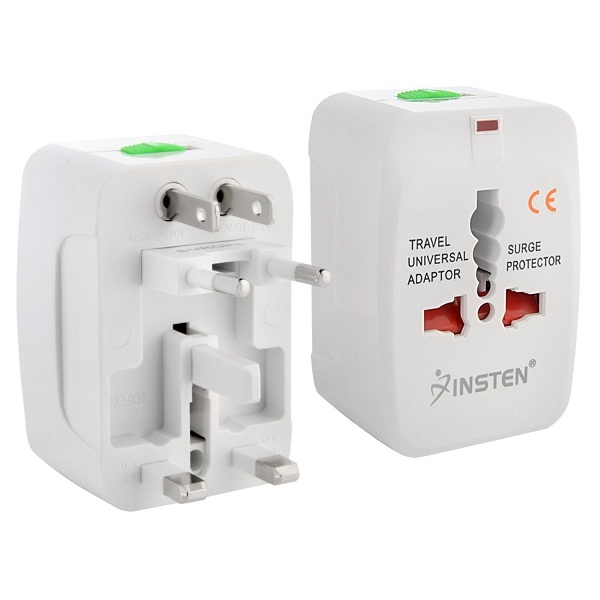 2. Insten Universal World Wide Travel Charger Adapter Plug