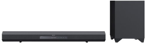 2. Sony HTCT260H Sound Bar with Wireless Subwoofer