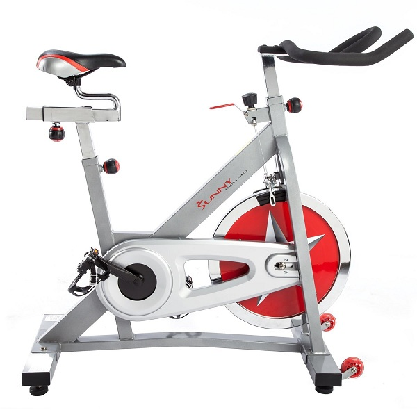 2. Sunny Health & Fitness Pro Indoor Cycling Bike