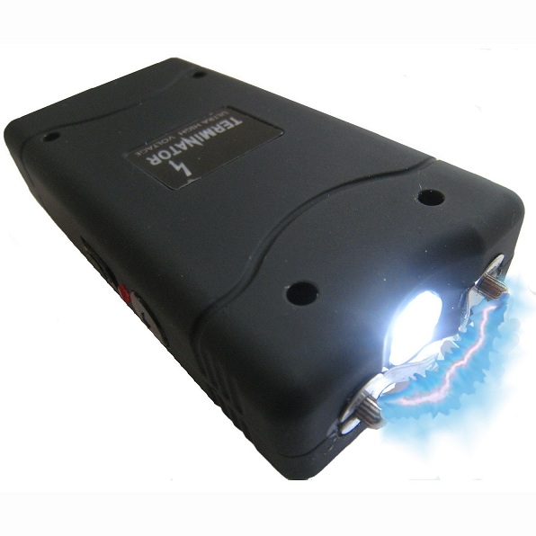 2. Terminator 35MV Stun Gun with Flashlight
