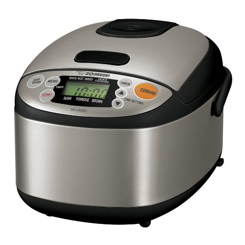 2. Zojirushi NS-LAC05XT Micom Rice Cooker and Warmer