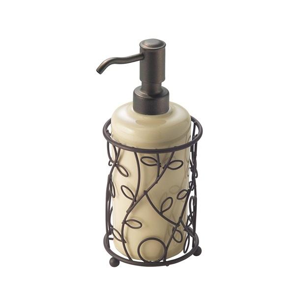 3. InterDesign Twigz Ceramic Soap Dispenser Pump