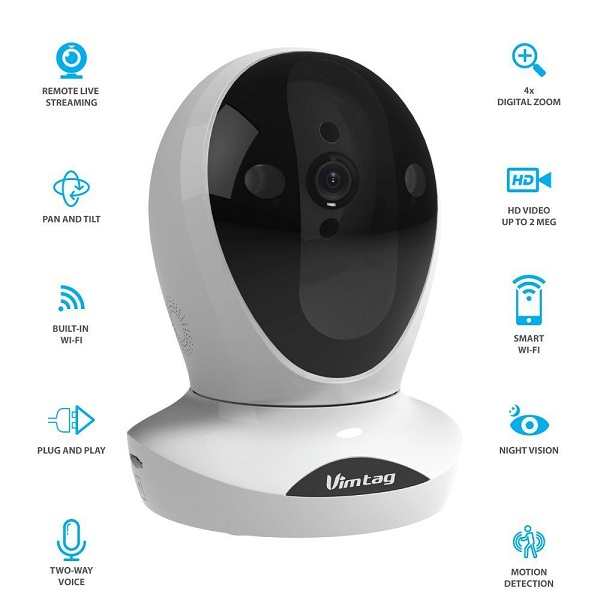 3. Vimtag® P1 Premium Wireless Network Security Camera