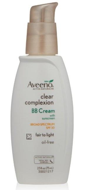 4. Aveeno Facial Moisturizers Clear Complexion BB Cream