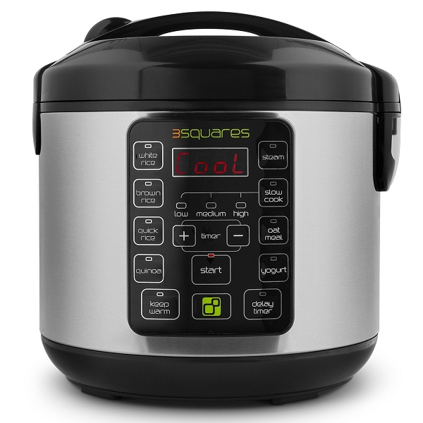5. 3 Squares 3RC-9010S TIM3 MACHIN3 Rice Cooker and Multi Cooker