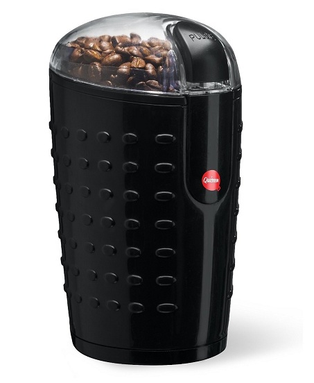 6. Quiseen One-Touch Electric Coffee Grinder