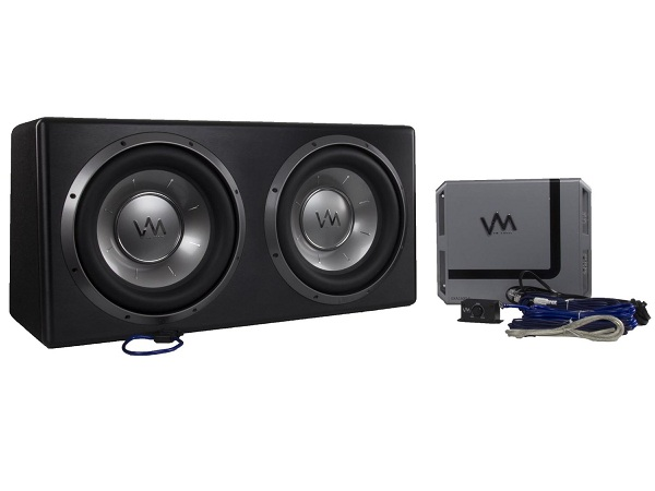 6. VM Audio Complete Car Stereo Subwoofer Bass Package