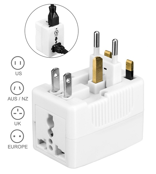 6. Yubi Power Universal World Wide Travel Plug Charger