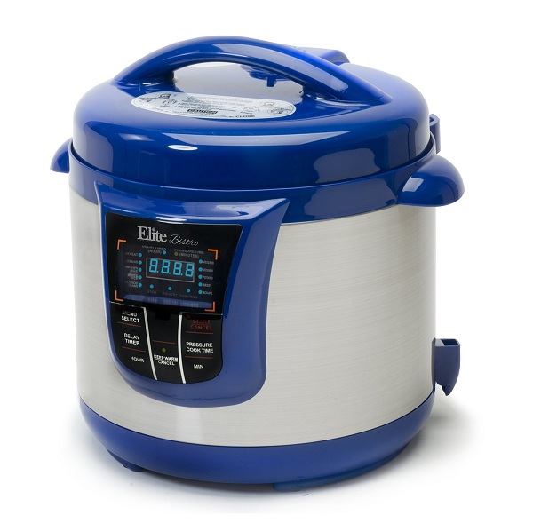 7. Elite Platinum EPC-808BL Electric Pressure Cooker