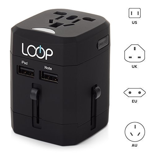 7. LOOP® Worldwide Travel Adapter