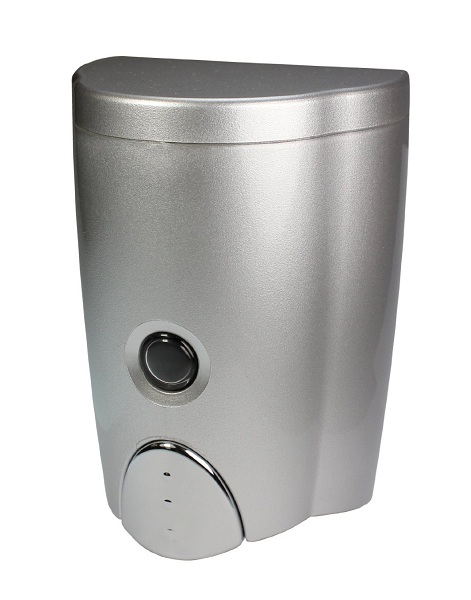 7. Simply Silver Wall-Mount Soap Dispenser