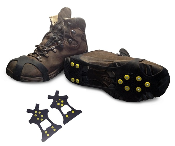 7. Snow Ice Traction No Slip Grip Spikes
