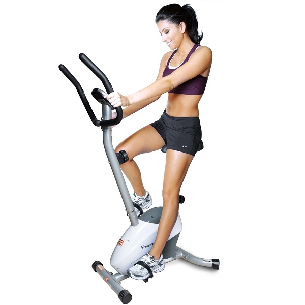 9. Velocity Exercise Magnetic Upright Exercise Bike