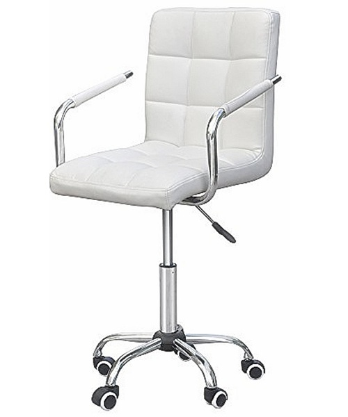 9. Yaheetech Modern PU Leather Midback Adjustable Executive Office Chair