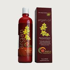 Argan Oil Shampoo, Sulfate Free by Maple Holistics