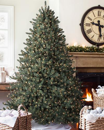 Balsam-Hill™-Blue-Spruce-Artificial-Christmas-Tree,-7.5-Feet,-Unlit
