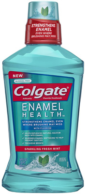 Colgate-Enamel-Health-Anticavity-Fluoride-Sparkling-Fresh-Mint-Mouthwash
