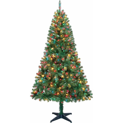 Holiday-Time-6.5ft-Pre-lit-Madison-Pine-Tree---Multi-Colored-Lights
