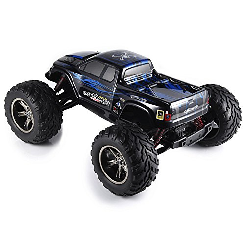 Hosim 112 Scale Electric RC Car Offroad 2.4Ghz 2WD High Speed 33+MPH Remote Controlled Car