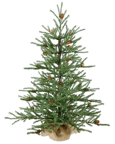 Vickerman-Carmel-Pine-with-Cones-and-684-Tips-Burlap-Base