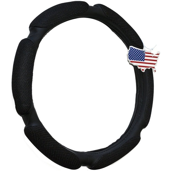 1. Everything Automobiles Steering Wheel Cover